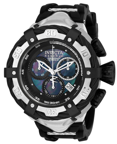 Invicta Men's 21365 Bolt Quartz Chronograph Black Dial Watch