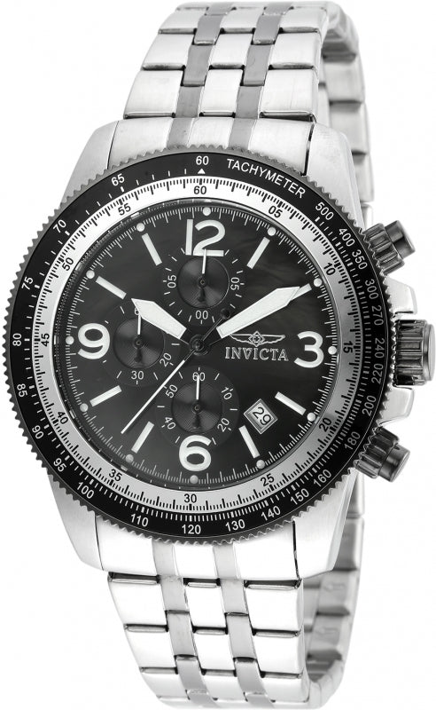 Invicta Men's 21389 Specialty Quartz Multifunction Black Dial Watch