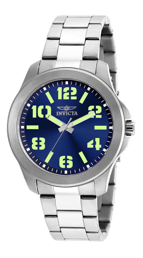Invicta Men's 21443 Specialty Quartz 3 Hand Blue Dial Watch