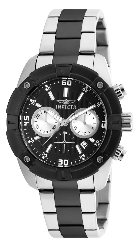 Invicta Men's 21469 Specialty Quartz Multifunction Black Dial  Watch