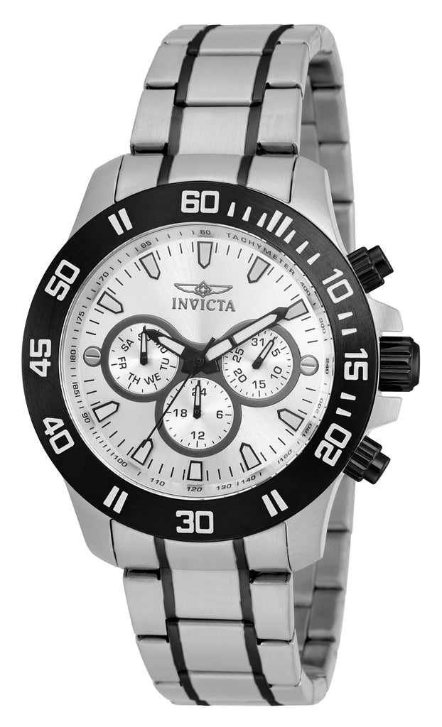 Invicta Men's 21485 Specialty Quartz Chronograph Silver Dial Watch