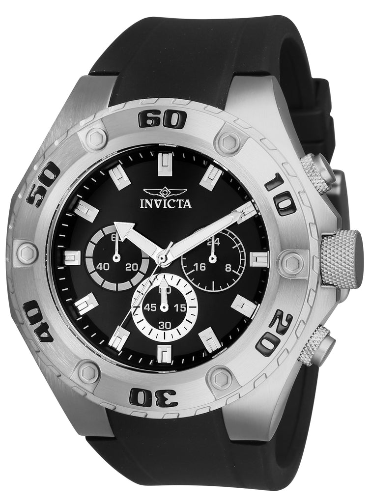 Invicta Men's 21563 Specialty Quartz Chronograph Black Dial Watch