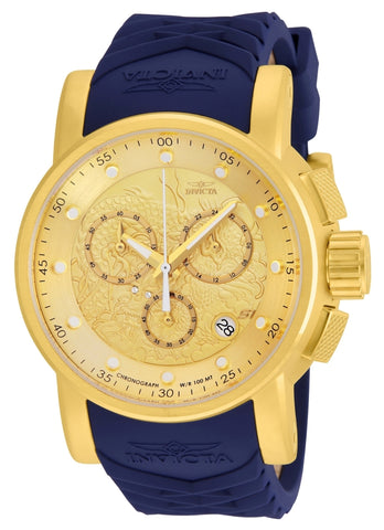 Invicta  Men's 21627 S1 Rally Quartz Chronograph Gold Dial Watch