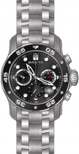 Invicta Men's 21920 Pro Diver Quartz Multifunction Black Dial Watch