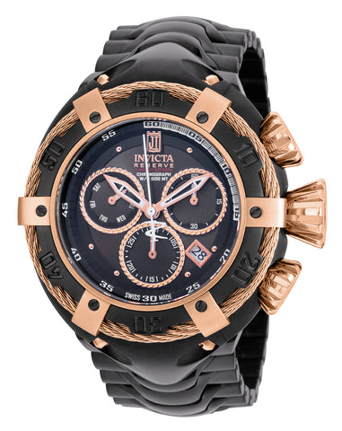 Invicta Men's 22175 Jason Taylor Quartz Chronograph Black Dial Watch