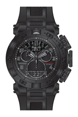 Invicta Men's 22282 Jason Taylor Quartz Chronograph Black Dial Watch