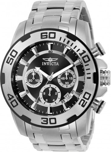 Invicta Men's 22318 Pro Diver Quartz Chronograph Black Dial Watch