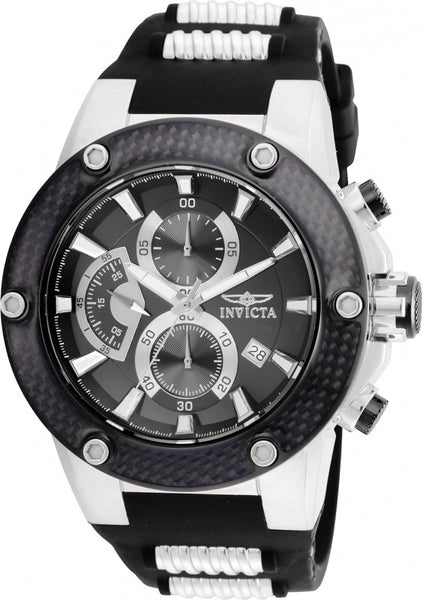 Invicta Men's 22400 Speedway Quartz Multifunction Black Dial Watch