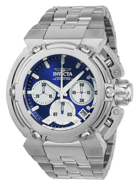 Invicta Men's 22424 Coalition Forces Quartz Chronograph Blue, White Dial Watch