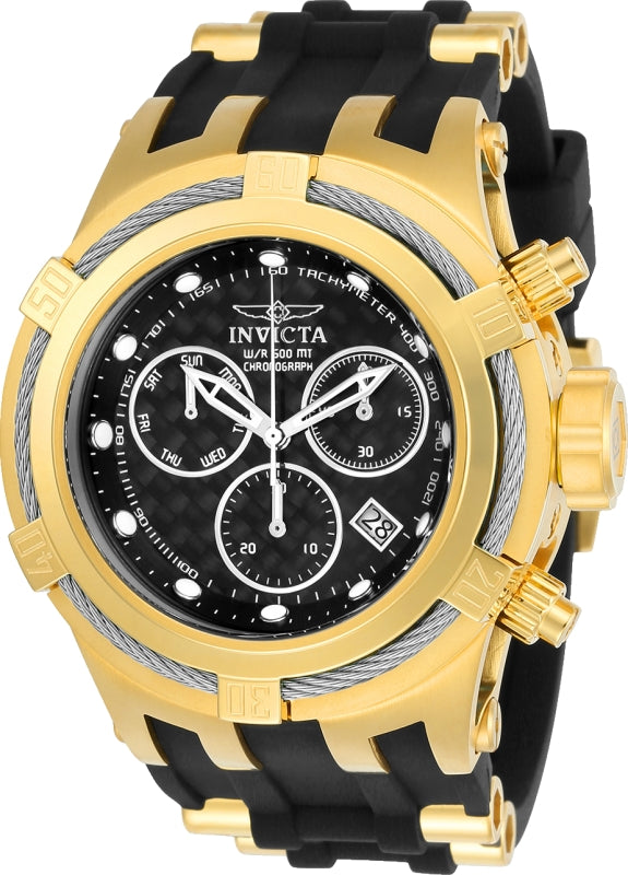 Invicta Men's 22447 Bolt Quartz Chronograph Black Dial Watch