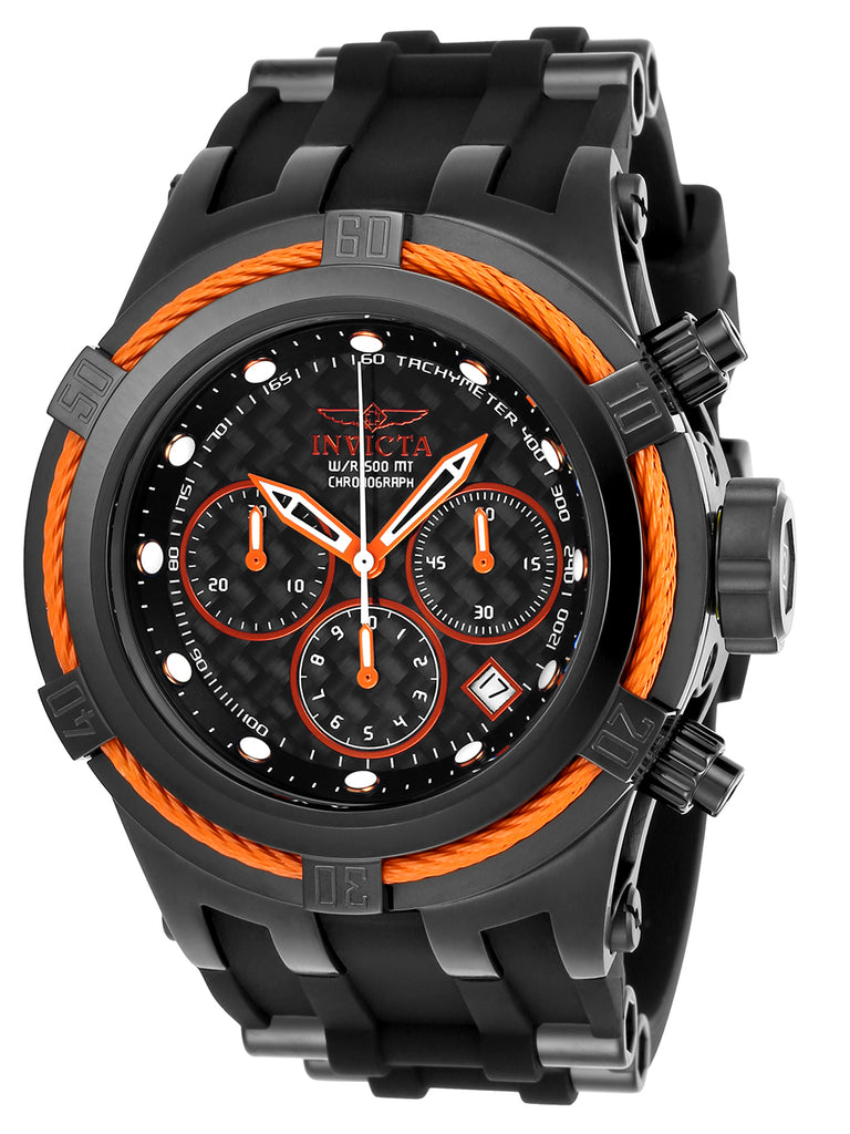 Invicta Men's 22450 Bolt Quartz Chronograph Black Dial Watch