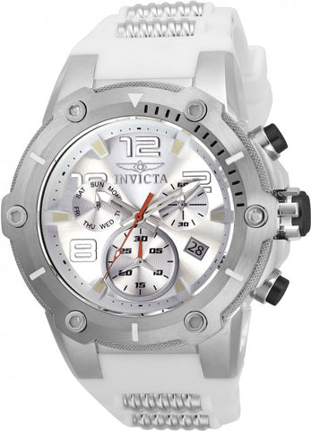 Invicta Men's 22511 Speedway Quartz Chronograph Silver Dial Watch