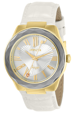 Invicta Women's 22540 Angel Quartz 3 Hand Silver Dial Watch