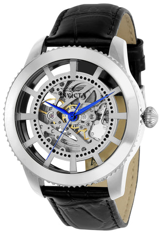 Invicta Men's 22570 Vintage Automatic 3 Hand Silver Dial Watch