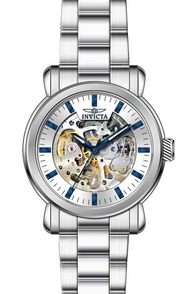Invicta Men's 22573 Objet D Art Automatic Multifunction Silver Dial Watch