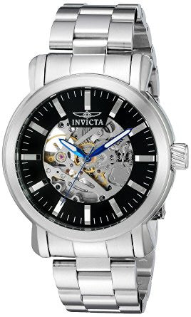 Invicta Men's 22574 Objet D Art Automatic 3 Hand Black Dial Watch