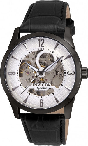 Invicta Men's 22638 Objet D Art Automatic 3 Hand White Dial Watch