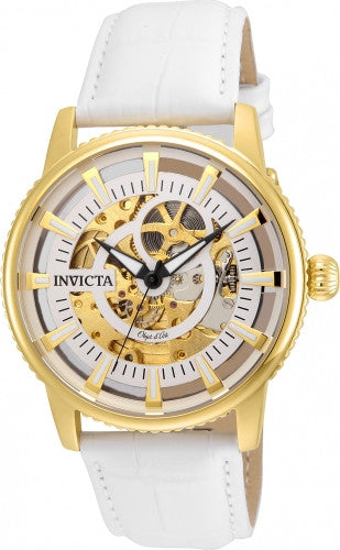 Invicta Men's 22643 Objet D Art Automatic 3 Hand Silver Dial Watch