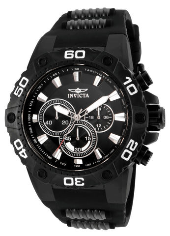 Invicta Men's 22686 Speedway Quartz Chronograph Black Dial Watch
