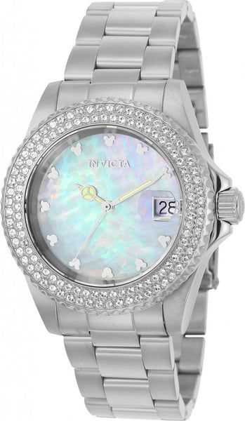Invicta Women's 22730 Disney Quartz 3 Hand White Dial Watch