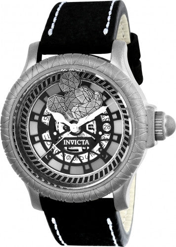 Invicta Men's 22739 Disney Limited Edition Quartz 3 Hand Silver Dial Watch