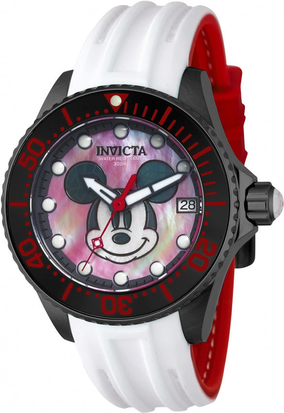 Invicta Women's 22755 Disney Automatic 3 Hand Red, Black, White Dial Watch