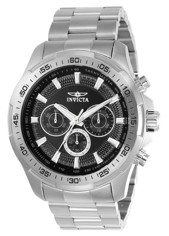 Invicta Men's 22780 Speedway Quartz Multifunction Black Dial Watch