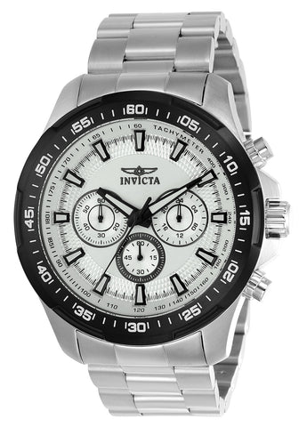 Invicta Men's 22782 Speedway Quartz Multifunction Silver Dial Watch