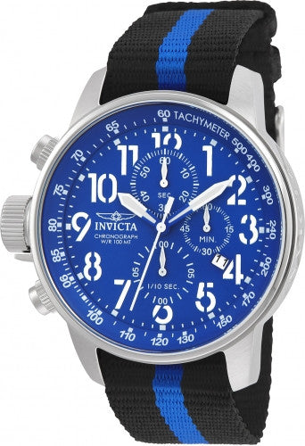 Invicta Men's 22847 I-Force Quartz Multifunction Blue Dial Watch