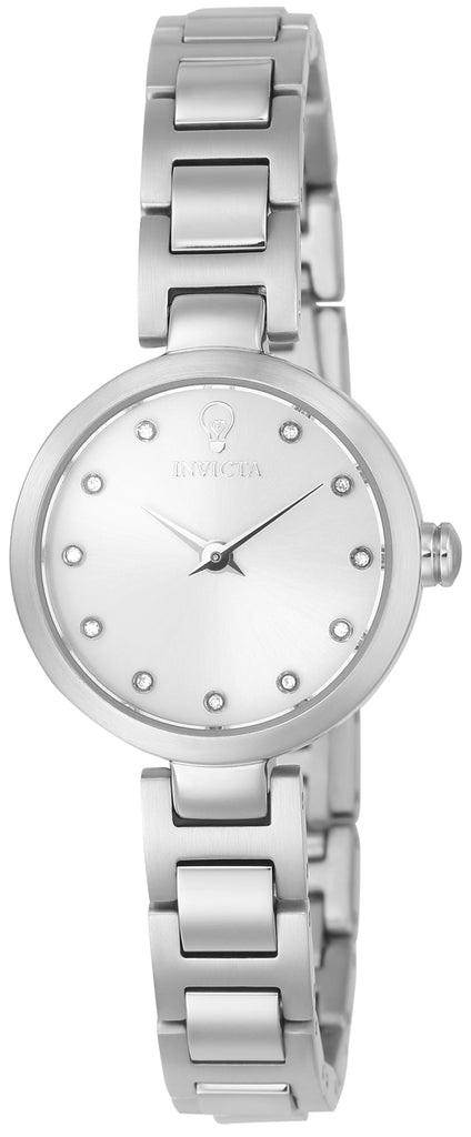 Invicta Women's 22886 Gabrielle Union Quartz 3 Hand Silver Dial Watch