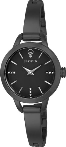 Invicta Women's 22892 Gabrielle Union Quartz 3 Hand Black Dial Watch