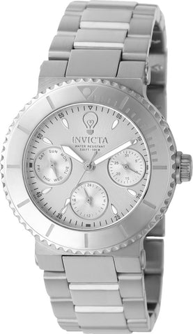 Invicta Women's 22894 Gabrielle Union Quartz Chronograph Silver Dial Watch