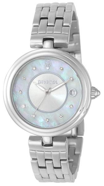 Invicta Women's 22897 Gabrielle Union Quartz 3 Hand White Dial Watch