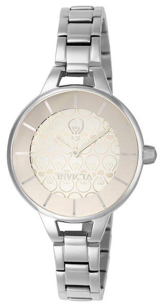 Invicta Women's 22911 Gabrielle Union Quartz 3 Hand Beige Dial Watch