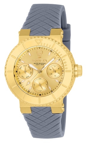 Invicta Women's 22954 Gabrielle Union Quartz Chronograph Gold Dial Watch