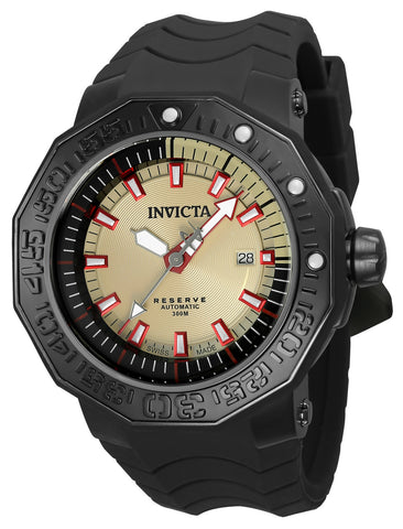 Invicta Men's 23033 Reserve Automatic 3 Hand Tan Dial Watch