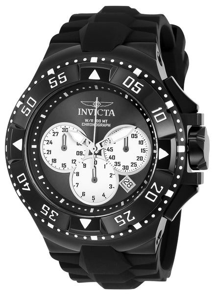 Invicta Men's 23041 Excursion Quartz Chronograph Black, Silver Dial Watch