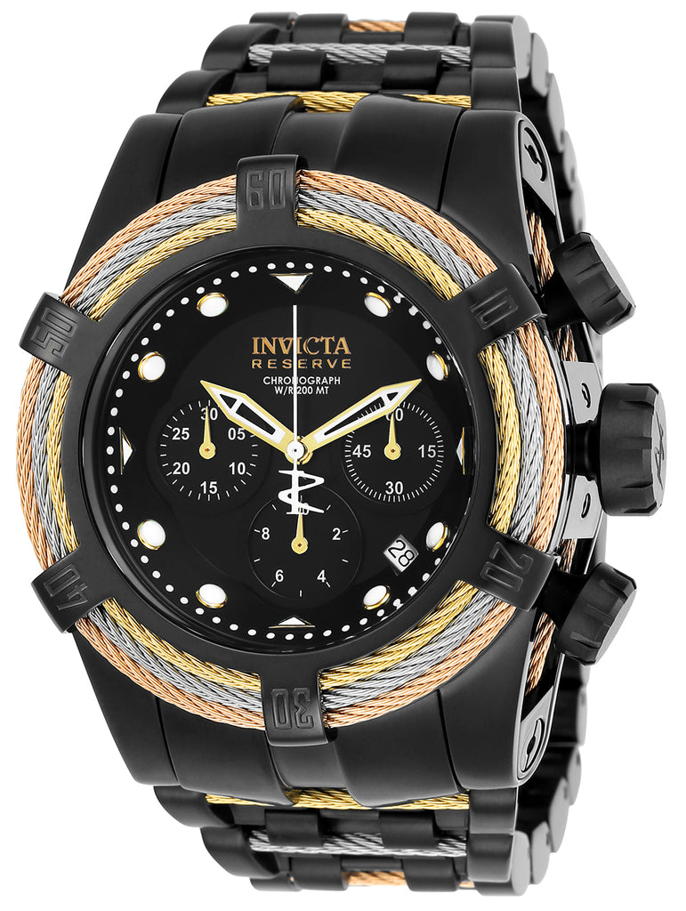 Invicta Men's 23050 Bolt Quartz Chronograph Black Dial Watch