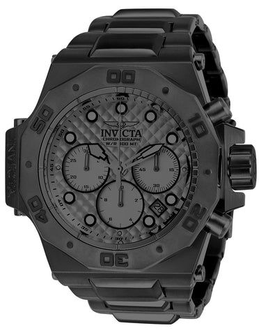 Invicta Men's 23099 Akula Quartz Chronograph Gunmetal Dial Watch