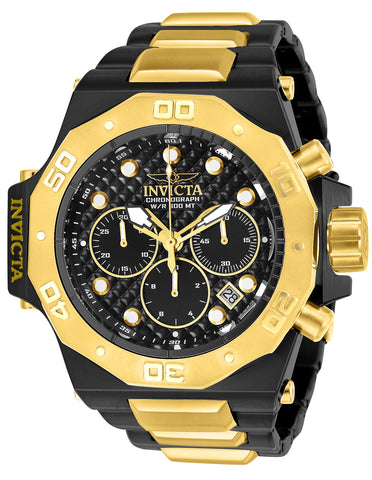 Invicta Men's 23100 Akula Quartz Chronograph Black Dial Watch