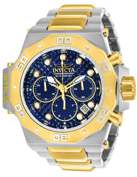 Invicta Men's 23101 Akula Quartz Chronograph Blue Dial Watch