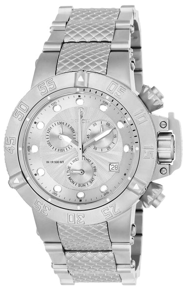Invicta Women's 23175 Gabrielle Union Quartz 3 Hand Silver Dial Watch