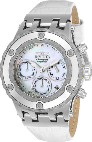 Invicta Women's 23241 Subaqua Quartz 3 Hand White Dial Watch
