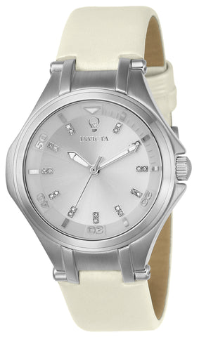 Invicta Women's 23250 Gabrielle Union Quartz 3 Hand Silver Dial Watch