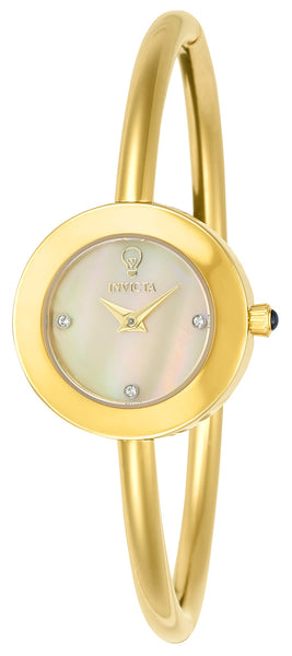 Invicta Women's 23259 Gabrielle Union Quartz 3 Hand Gold Dial Watch
