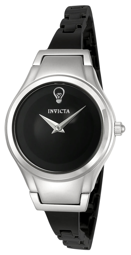 Invicta Women's 23270 Gabrielle Union Quartz 2 Hand Black Dial Watch