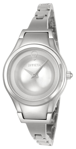 Invicta Women's 23271 Gabrielle Union Quartz 2 Hand Silver Dial Watch