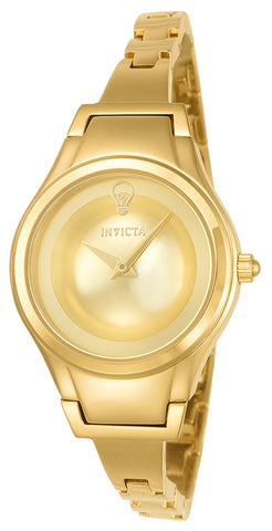 Invicta Women's 23273 Gabrielle Union Quartz 2 Hand Gold Dial Watch