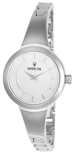Invicta Women's 23316 Gabrielle Union Quartz 3 Hand Silver Dial Watch