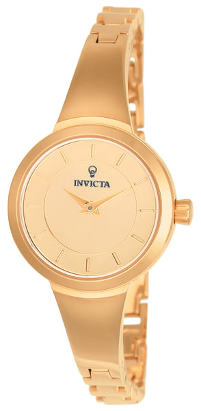 Invicta Women's 23318 Gabrielle Union Quartz 3 Hand Rose Gold Dial Watch